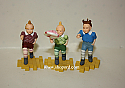 Hallmark 1998 The Lollipop Guild Set of 3 Ornament The Wizard Of Oz QX8029