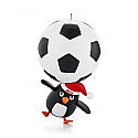 Hallmark 2013 Soccer Star Ornament Stickers included QXG1022