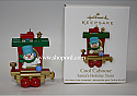Hallmark 2011 Cool Caboose Miniature Ornament Santas Holiday Train Continuity Program QRP5919