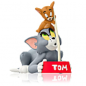 Hallmark 2014 The Last Straw Ornament Tom and Jerry QXI2456
