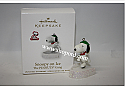 Hallmark 2010 Snoopy on Ice Continuity Program The Peanuts Gang QRP4733