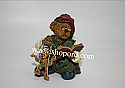 Boyds The Bearstone Collection - Isaac Chisley and Woody (Makin Friends) #228390