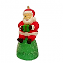 Hallmark 2017 Keepsake Sweet Li'l Santa Mini REPAINT Ornament  QXC8382