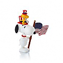 Hallmark 2013/2014 Patriotic Pals Ornament 12th and Final in the monthly series QX9855