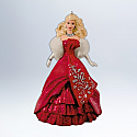 Hallmark 2012 Celebration Barbie Ornament 13th and Final in the ornament series - Special 2012 Edition Inspired by Holiday Barbie Doll QX8534