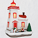 Hallmark 2018 Keepsake Holiday Lighthouse Ornament QX9356