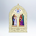 Hallmark 2012 Peace On Earth Ornament 3rd and final in the Windows of Faith series QX8011