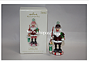 Hallmark 2008 Candy Claus Ornament 1st in the Noel Nutcrackers series QX7211