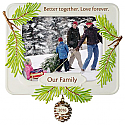 Hallmark 2016 Better Together Photo Holder Ornament QGO1131