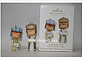 Hallmark 2011 Seeking the King Keepsake Ornament Club set of 2 QXC5019