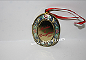 Hallmark 2001 Mother and Daughter Locket Photo Holder Ornament QX6962