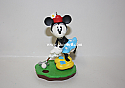 Hallmark 1999 Final Putt Minnie Mouse Spring Ornament Mickey & Co QEO8349 Damaged Box