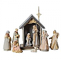 Enesco Foundations Nativity (9 piece) 4026922