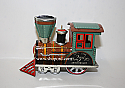 Hallmark 1998 Tin Locomotive Ornament Anniversary Edition QX6826
