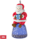 Hallmark 2017 Keepsake Sweet Li'l Santa Mini Ornament QXM8582