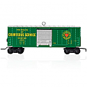 Hallmark 2015 Lionel Seaboard Boxcar Train Ornament QXI2537