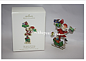Hallmark 2008 The Spirit of Giving Ornament A Santa Claus Christmas QP1614 Damaged Box