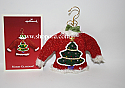 Hallmark 2003 Merry Glitzmas Ornament Lighted QLX7537