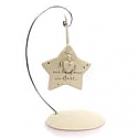 Enesco Foundations Bereavement Star Ornament with Stand 4056717