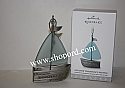 Hallmark 2017 Discover Tomorrows Promise Ornament Sailboat QHX1062