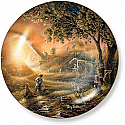 Terry Redlin- Harvest Memories Plate