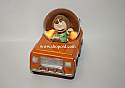 Hallmark Peanuts Peppermint Patty Collectible Box Car Water Globe PAJ1158
