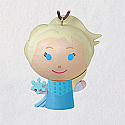 Hallmark 2018 Keepsake Elsa Wood Ornament QXD6396