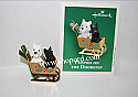 Hallmark 2003 Puppies On The Doorstep Miniature Ornament QXM4989
