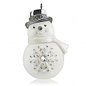 Hallmark 2015 Snappy Snowman Miniature Ornament QXM8539