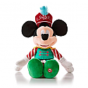 Hallmark Nutcracker Sweets Mickey Plush with sound XKT1236