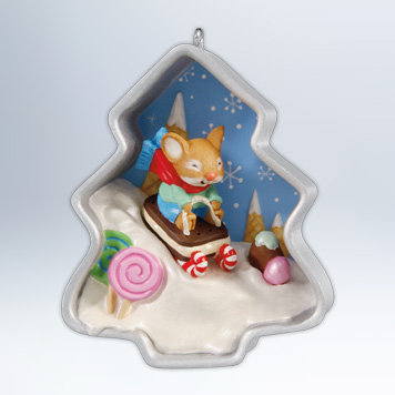 Hallmark 2012 Cookie Cutter Christmas 1st in the series Ornament QX8301