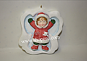 DaySpring 2003 Snow Angel Ornament Christmas Celebration Collection QDS8048