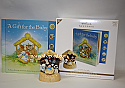 Hallmark 2011 A Gift for the Baby Storybook and Ornament set QXG7583