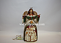 Jim Shore Star of Wonder Ivory and Gold Angel with Nativity Scene Figurine 4035392