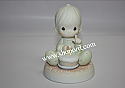 Precious Moments - Baby's First Birthday (One of Eight Figurines in the Baby's First Series) #524069