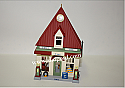 Hallmark 2001 Service Station 18th In The Nostalgic Houses and Shops Series QX8045