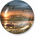Terry Redlin- Patiently Waiting Plate