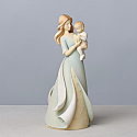 Enesco Foundations Mother and Adopted Child Figurine 4033863