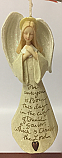 Enesco Foundations Angel with Folded Hands Ornament 118156