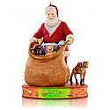 Hallmark 2015 Packing Up The Toys Ornament 5th In The Once Upon A Christmas Series QX9089 (Requires Magic Cord - Sold Separately)