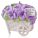 Hallmark 2014 Pansies Stand For Thoughts Ornament QHG1236