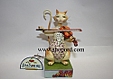 Jim Shore Second Fiddle To No One Cat With Fiddle Figurine 4031227