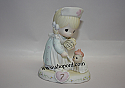 Precious Moments 163740 Growing In Grace Age 7 Blonde Version Figurine