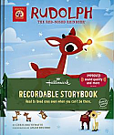 Hallmark Rudolph The Red Nosed Reindeer Recordable Storybook Hardcover KOB8135